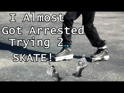 Asher Almost Got Arrested Trying To Skate