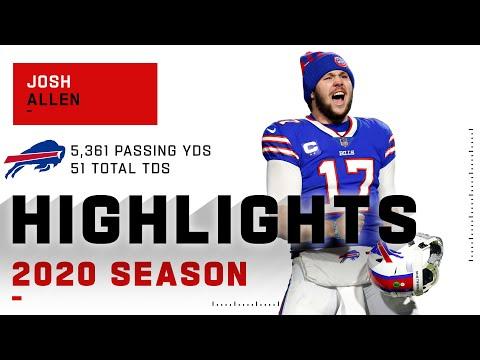 Josh Allen Full Season Highlights | NFL 2020