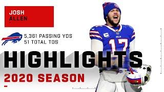 Josh Allen Full Season Highlights