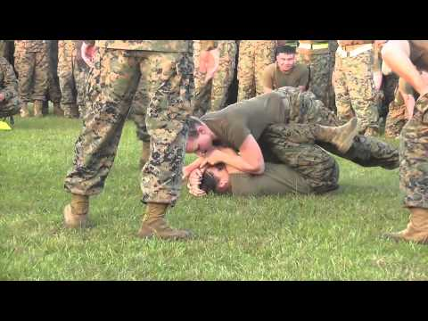 USMC Girl Fight!!