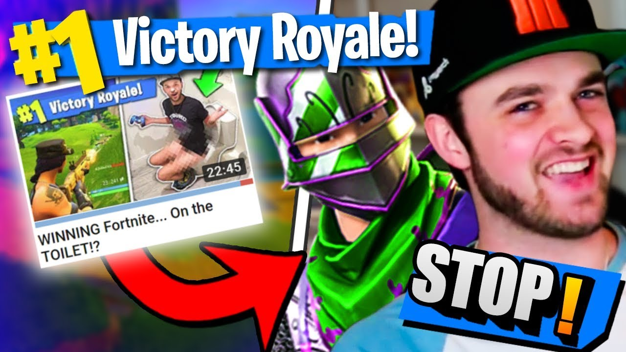 STOP THESE FORTNITE YOUTUBERS