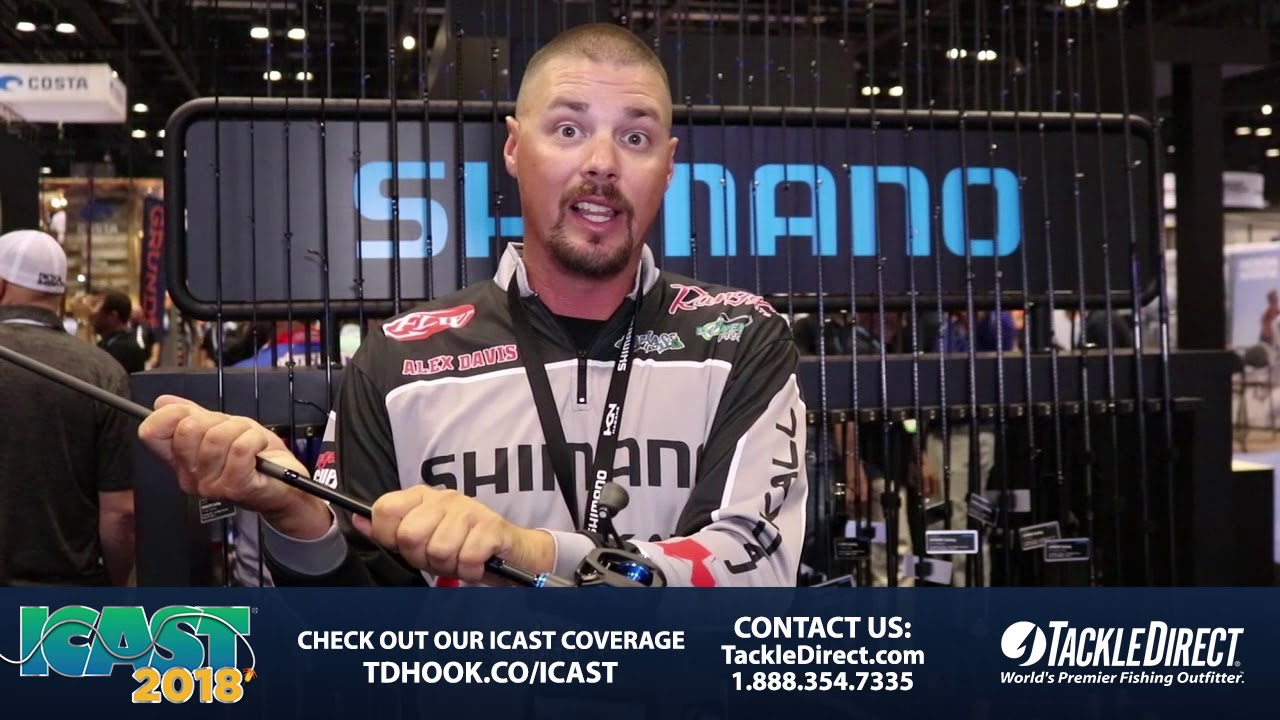 d418b8e8c0e Shimano SLX Rods at ICAST 2018. TackleDirect
