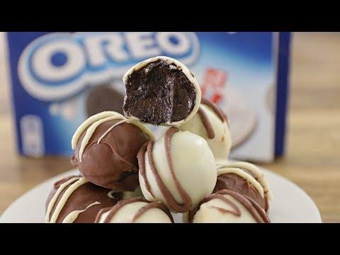 How to make oreo cake bites