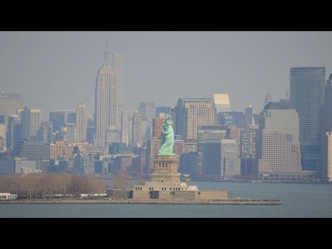 Royal Caribbean Anthem of the Seas Departs New York City / B