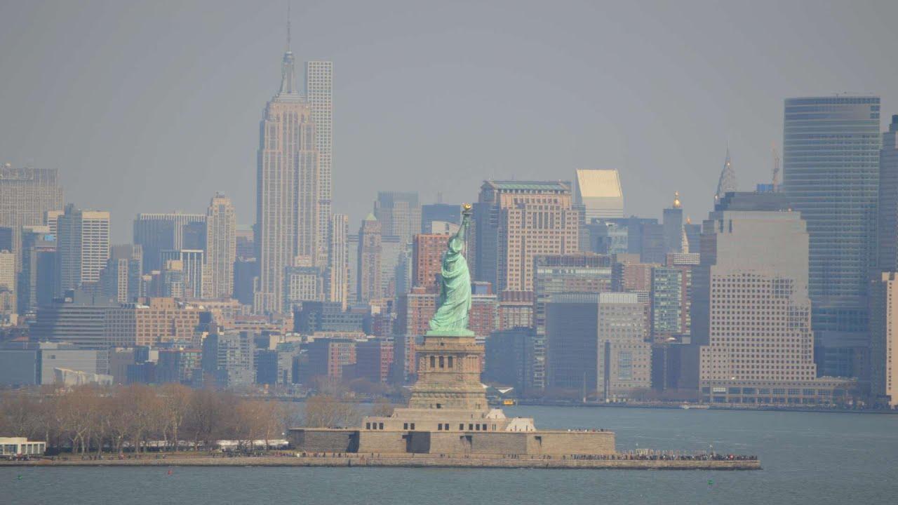 Royal Caribbean Anthem Of The Seas Departs New York City