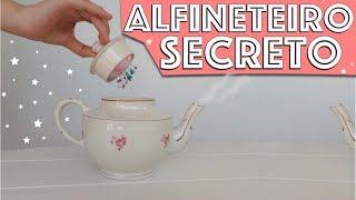 ALFINETEIRO SECRETO: Reaproveitando um bule de chá