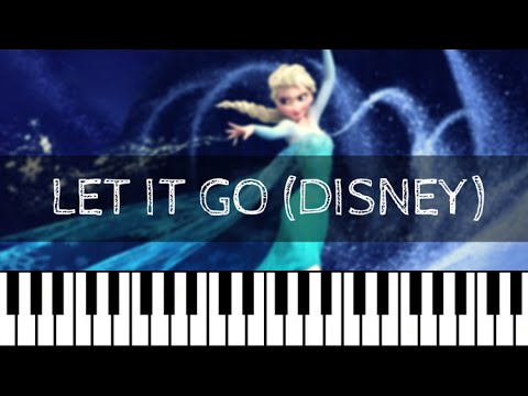 Super Frozen - Let it Go (Disney)   Piano Tutorial Nederlands - YouTube LM-21