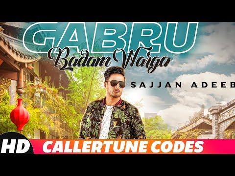 GabruBadam Warga| Calller Tune Codes |Sajjan Adeeb |Latest Punjabi Song 2018 | Speed Records
