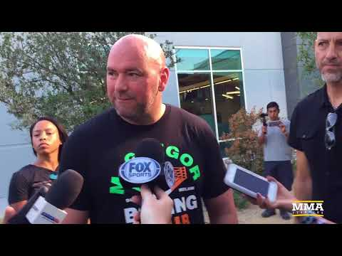 Dana White Slams Showtime For Late Notice About Finding Irish Anthem Singer - MMA Fighting