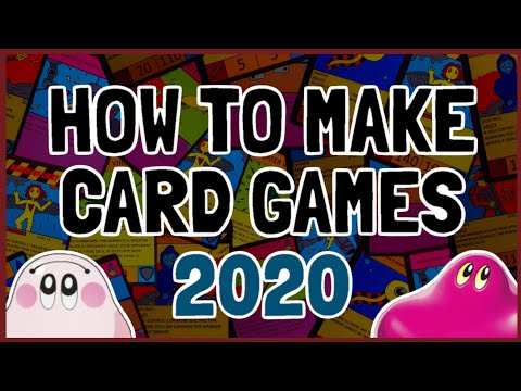 How To Make A Card Game 2020