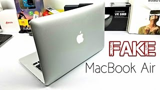 Fake Macbook Air - Late 2016 Model - Looks identical BEWARE!(Please subscribe for more! Watch this video with the best quality on Google Chrome! This video is intended to make you aware that replicas are hitting the ..., 2016-08-18T05:33:44.000Z)