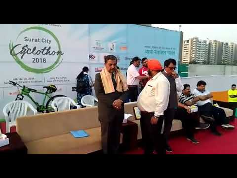 Surat City Cyclothon memorable Moment of NOC FOUNDATION NEW OPPORTUNITY FOR CHILDREN'S Founder