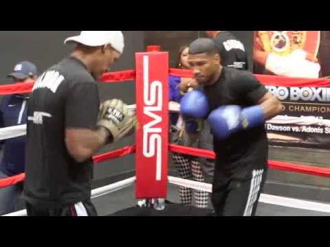 EXCLUSIVE YURIORKIS GAMBOA TRAINING FOOTAGE @ 50 CENT GYM IN LAS VEGAS / iFILM LONDON