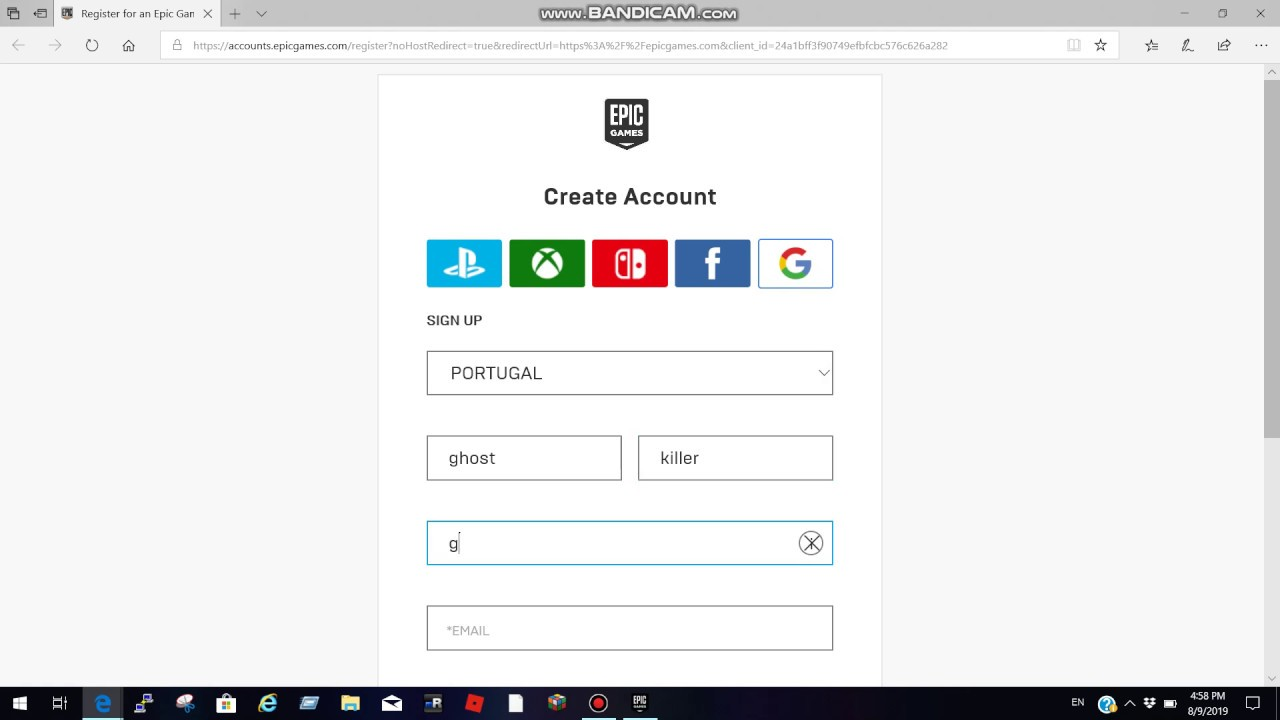 How to create an Epic Games account, easy tutorial. - YouTube