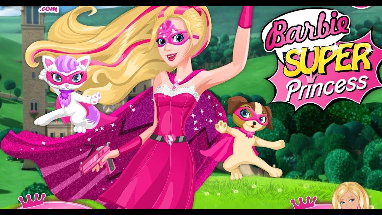 Barbie Super Princesa Desenhos Animados Em Portugues Completos Youtube