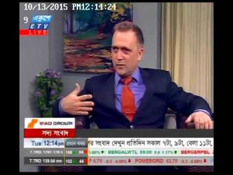 Interview with Founding Director of Eurasia Institute Andrew Geddes on ETV Bangladesh