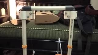 First time Dry print test my 3dprinter baby bala bala
