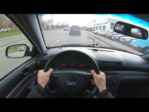 2000 Audi A4 1.6L (101) POV TEST DRIVE