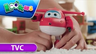 【Official】Super Wings TVC-transform