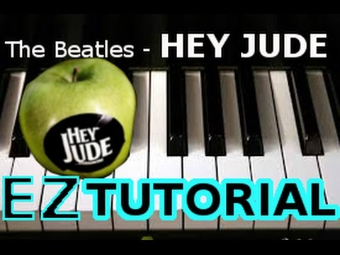 THE BEATLES - Hey Jude - PIANO TUTORIAL Video (Learn Online Piano Lessons)
