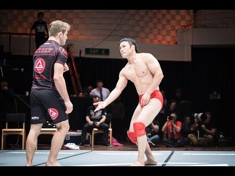 AJ Agazarm vs MINOWAMAN - Polaris 4 Free Fight