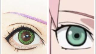 Haruno Sakura | Tutorial : Anime Eye Makeup 203