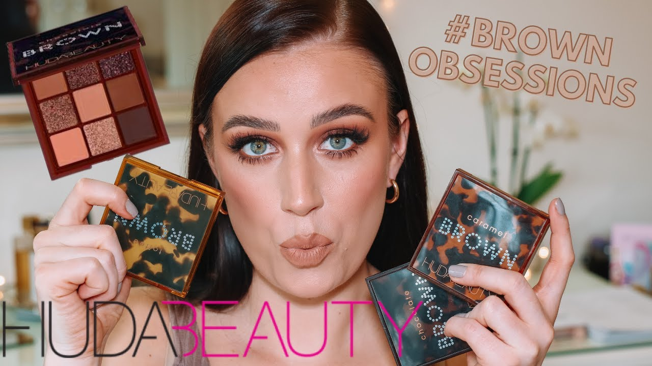 NEW HUDA BEAUTY REVIEW | BROWN OBSESSIONS PALETTE