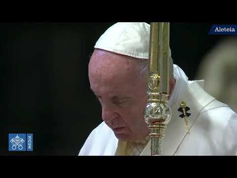 Coronavirus: La messe du Jeudi saint avec le pape François