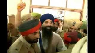 Jathedar Bhai Balwant Singh Rajoana Ji In Court | 15th May 2013 | Khalistan Zindabad