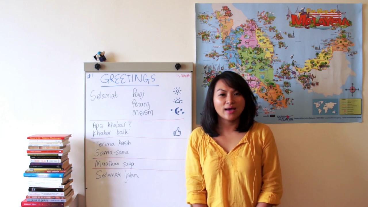Learn Malay 1 Basic Greetings Youtube