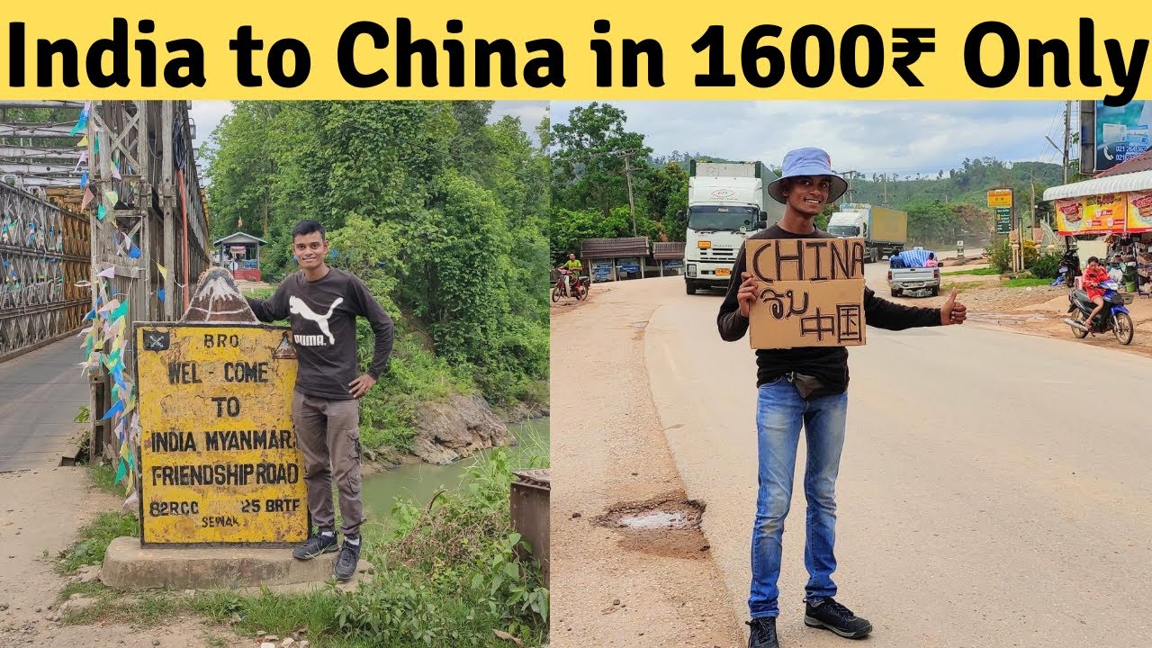 INDIA to CHINA by land in 6 Days by Hitchhiking