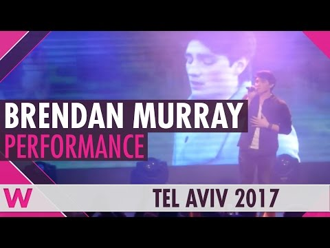"Brendan Murray ""Dying to Try"" (Ireland 2017) LIVE @ Israel Calling"