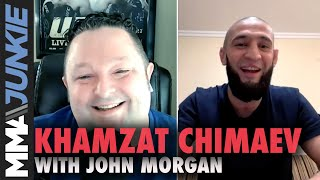 Khamzat Chimaev down for Nick Diaz UFC return fight