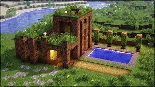 Minecraft: 5 CASAS INCRÍVEIS FEITAS DE TERRA!!! thumbnail