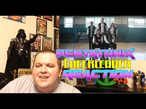 Pentatonix - Cheerleader [Official Video] (OMI COVER) REACTION!!!!