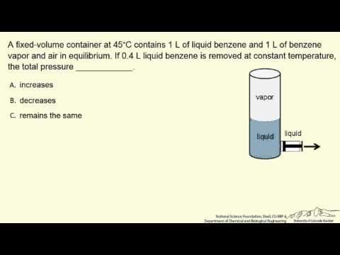 Remove Liquid from VLE System (Interactive)