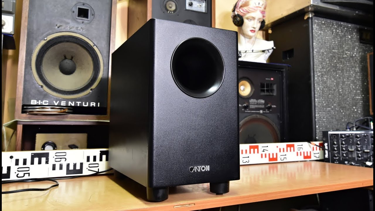canton as 80 cx active subwoofer bass reflex woofer speaker aktivn subwoofer youtube. Black Bedroom Furniture Sets. Home Design Ideas