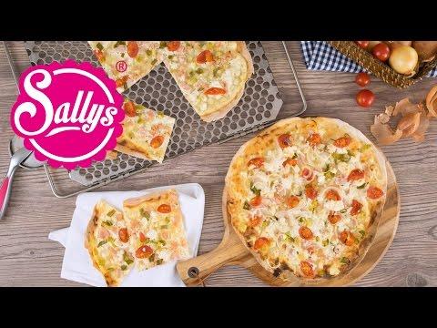 Flammkuchen Grundrezept / Sallys & Murats Variante / Sallys Welt