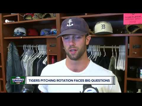 Tigers pitching staff faces questions after injury-plagued 2018