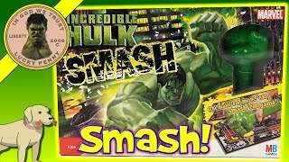 The Incredible Hulk Smash Game - Milton Bradley Games