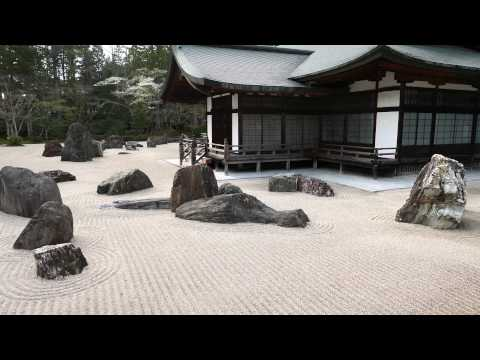 【UNESCO World Heritage】Koyasan Shingon Buddhism Kongobuji explained Banryu Garden