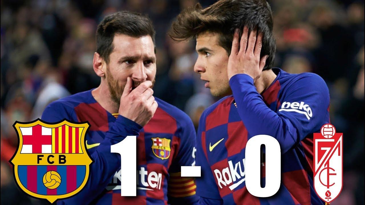 Barcelona Vs Granada 1 0 La Liga 2020 Match Review Youtube