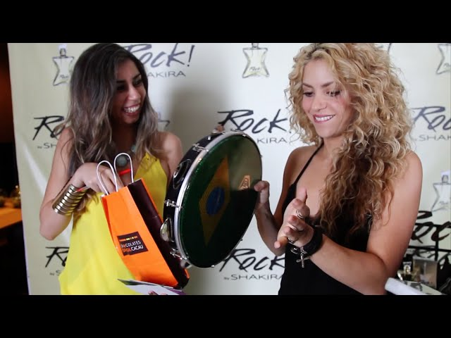Shakira + #RockByShakira: Meet and Greet in Barcelona / Encuentro con fans en Barcelona