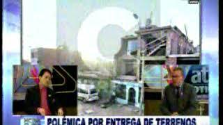 Polemica por entrega de terrenos a terroristas