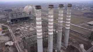 Wyburzenia w cementowni CEMEX 20.02.2014