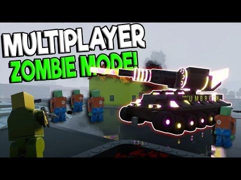NEW MULTIPLAYER ZOMBIE CITY HORDE MODE! - Brick Rigs Update Gameplay - Lego Tank Zombie Beta Update