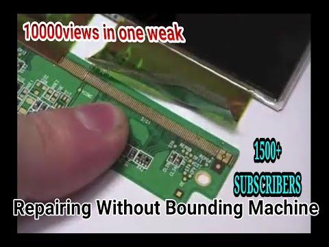 Panel Repair Without BONDING MACHINE