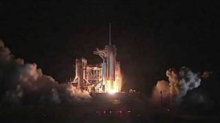 Launch of STS-128 from T-9 minutes to MECO (HD)