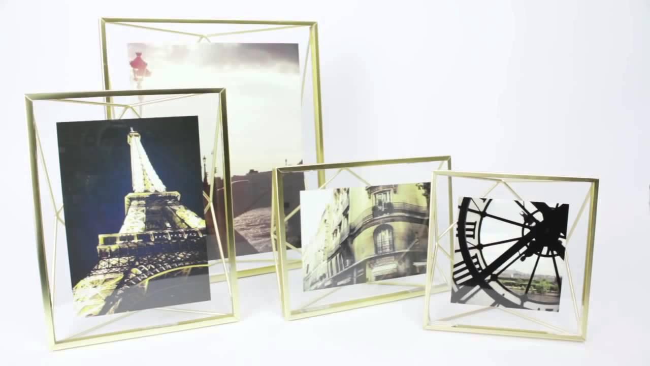 Umbra prisma cornice tridimensionale porta foto da parete for Immagini tridimensionali gratis