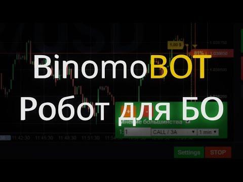 Робот для торговли бинарными опционами - BinomoBOT 1.0